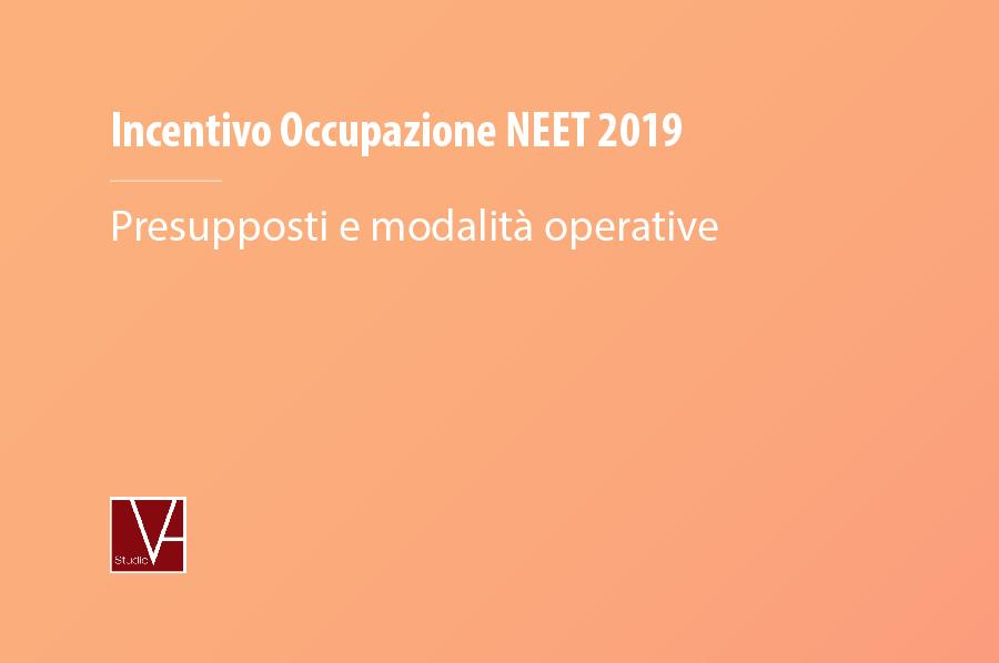 Incentivo NEET 2019 – Presupposti e modalità operative